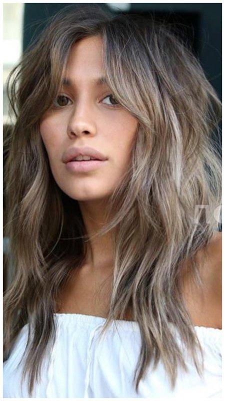 Идея для стрижки для длинных волос