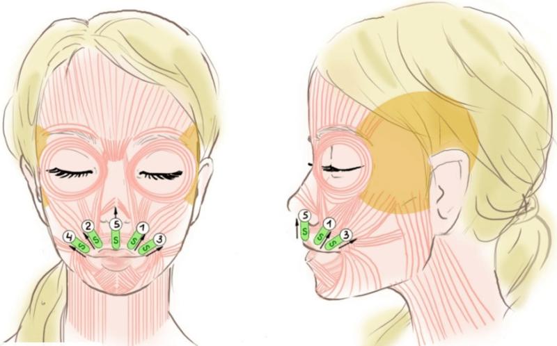 Аппликация на губы
