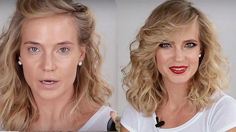 Наталья Ионова без макияжа