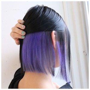 Скрытое окрашивание на короткие волосы фото