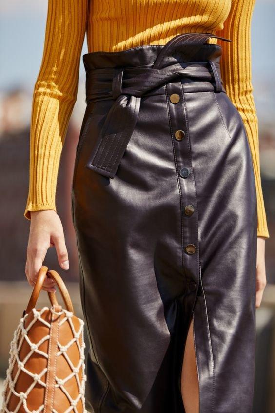 Модная юбка 2021 фото