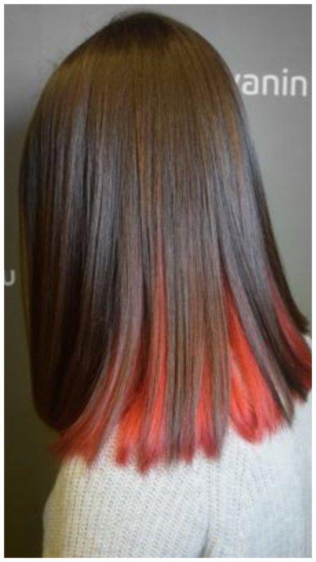 Как прикольно покрасить волосы: идеи