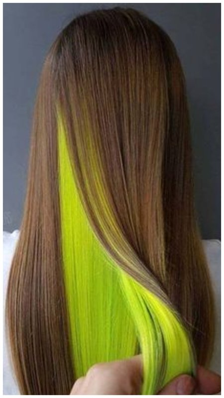 Сочное скрытое окрашивание на русые волосы