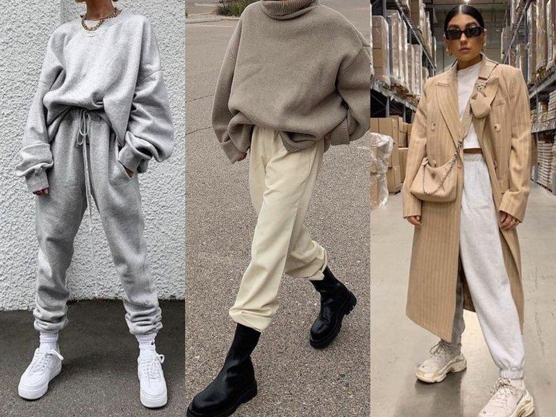 С чем носить джоггеры на улицу