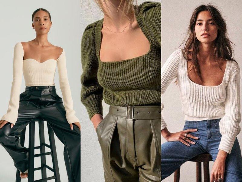 Самый модный трикотажный свитер 2021