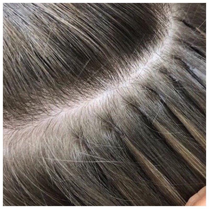 Загущение волос фото до и после