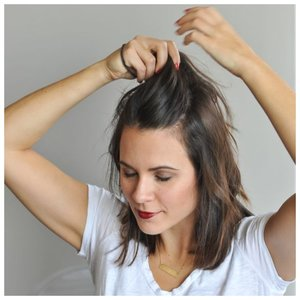 Как собрать волосы, если стрижка каре