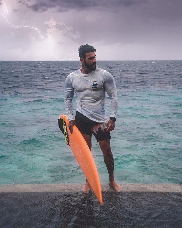 Тимати на Мальдивах фото