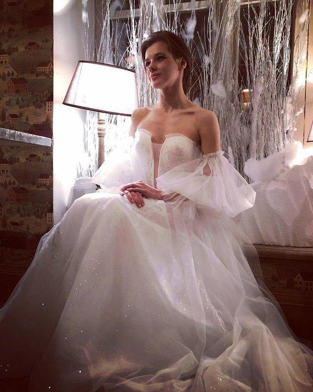 Катерина Шпица свадебное платье фото
