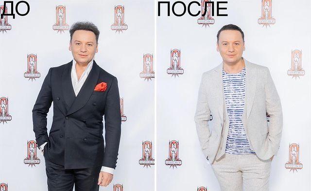 """Олешко на программе """"Модный приговор"""" фото до и после"""