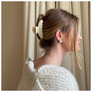 Как собрать волосы крабиком