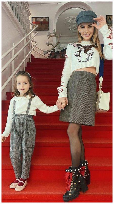 Хилькевич с дочкой