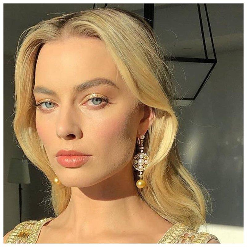 Марго Робби макияж