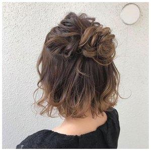 Как собрать волосы в каре