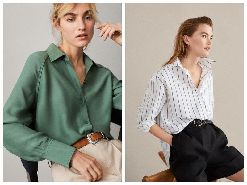 Базовые женские рубашки