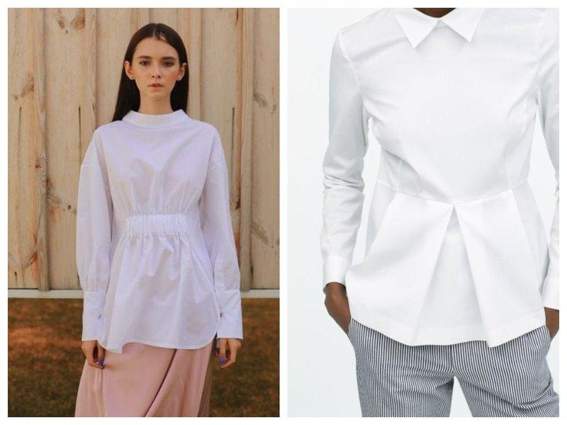 Классические приталенные рубашки