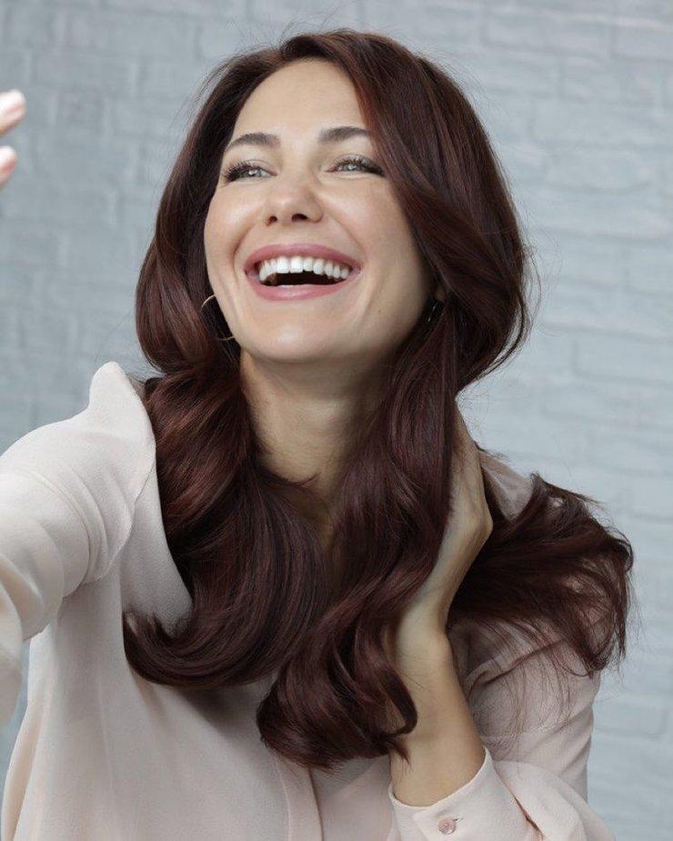 Екатерина Климова цвет волос