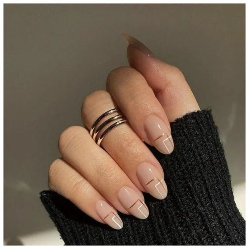 Модное тройное кольцо
