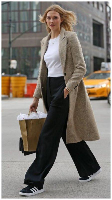 Модные женские брюки со стрелкой