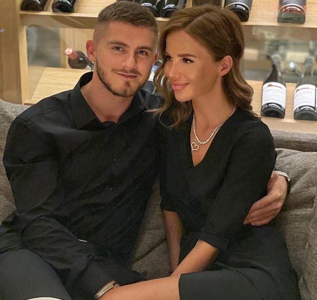 Алекса с женихом