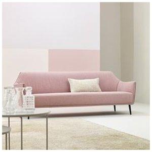Диван для гостиной в розовом цвете