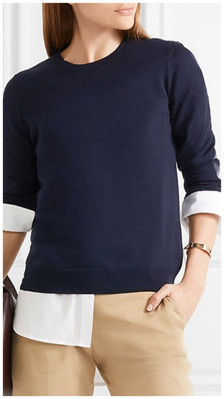 Как носить рубашку с джемпером фото пример