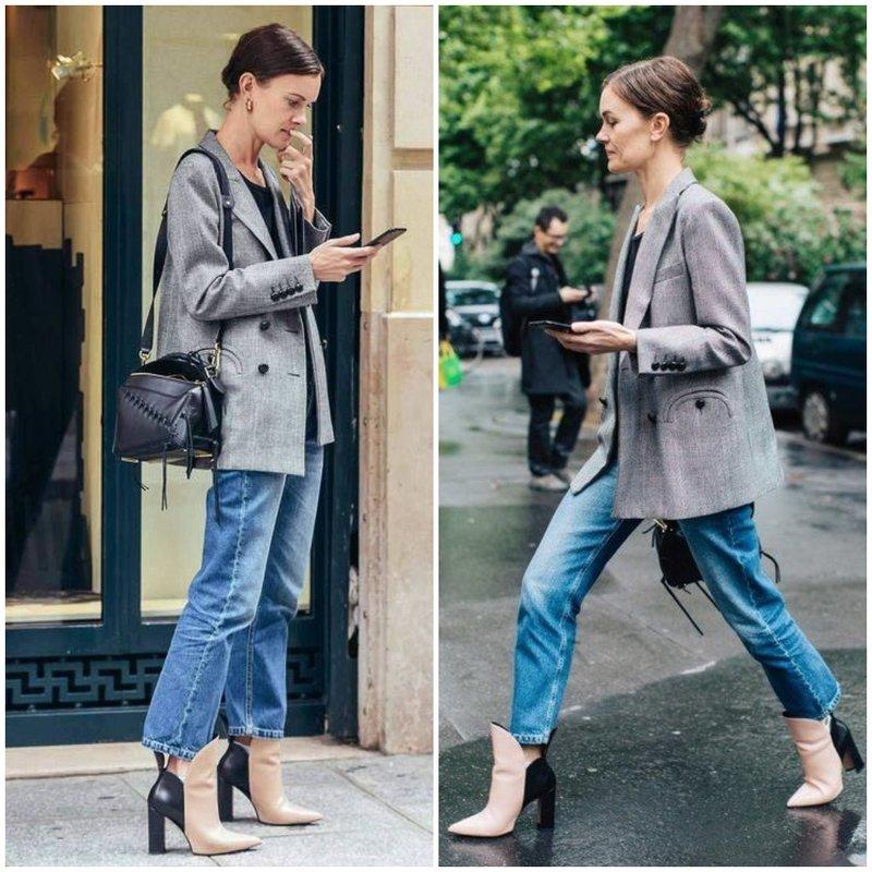 Как носить серый пиджак в мужском стиле