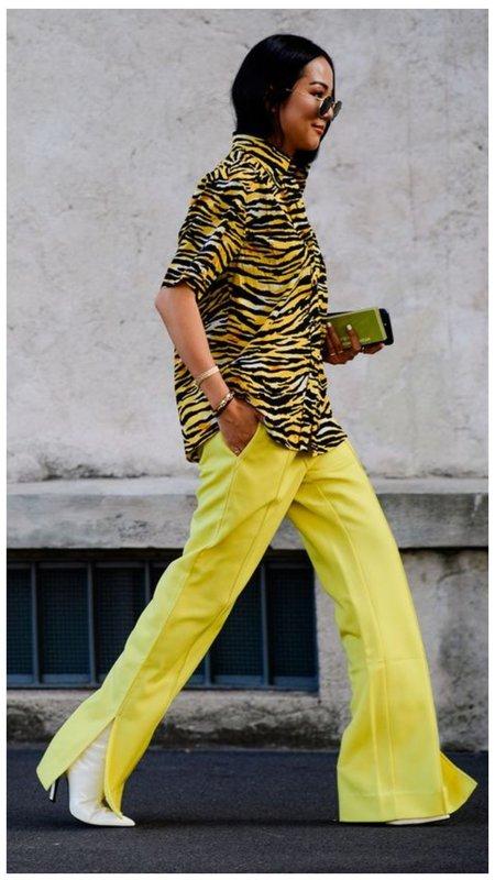 Как носить тигровые вещи