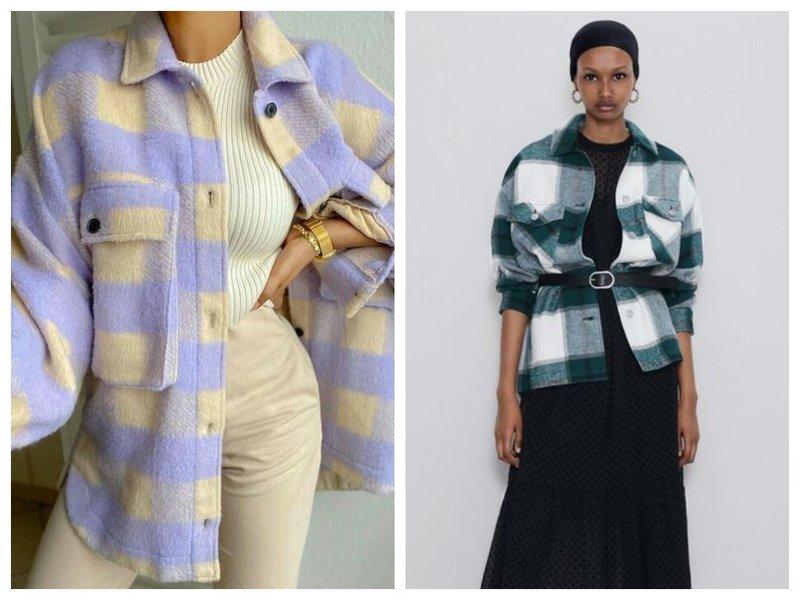 Женские рубашки как пальто фото