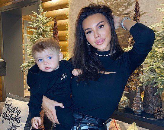 Оксана Самойлова с сыном фото