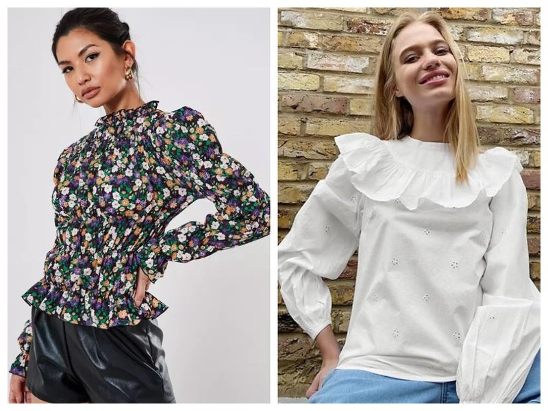 Трендовые блузки в викторианском стиле