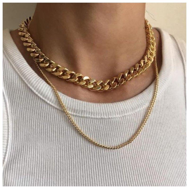 Как носить золотое украшение и бижутерию