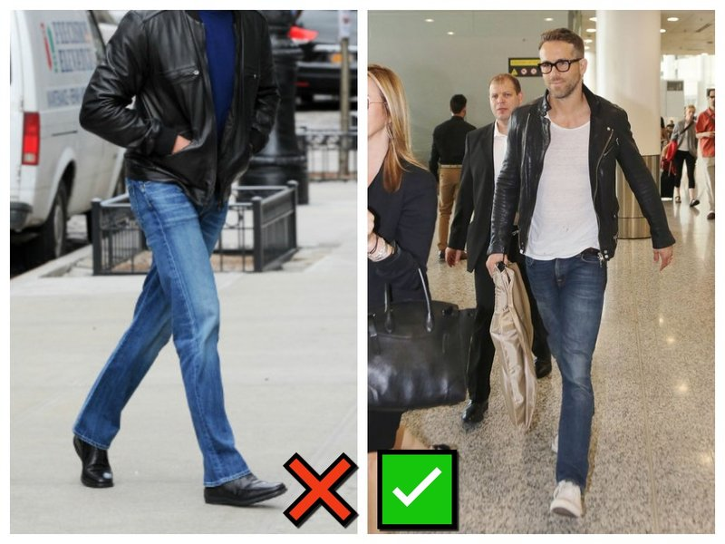 Как носить футболку с джинсами мужчине
