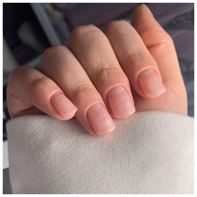 Ногти без покрытия