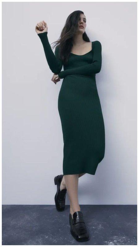Трикотажное платье фото
