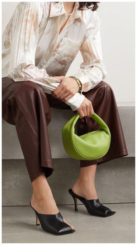 Салатовая сумка багет