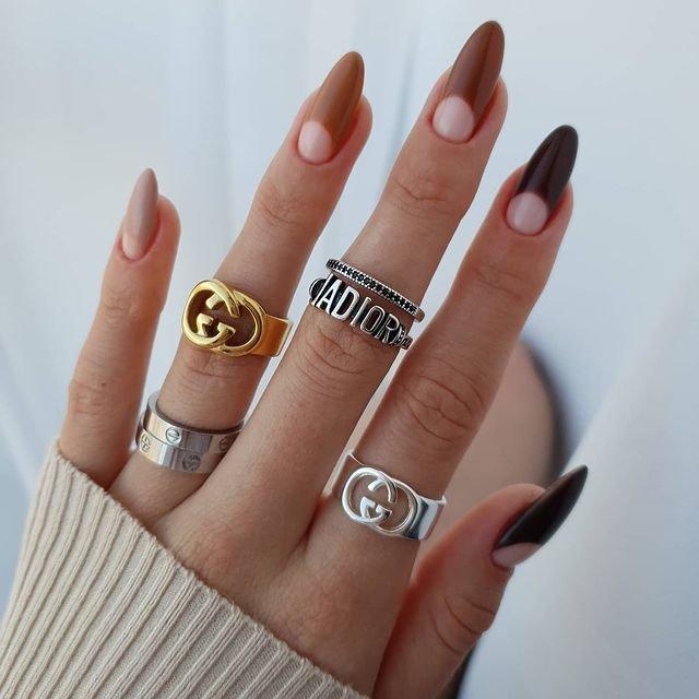 Дизайн для ногтей лунки