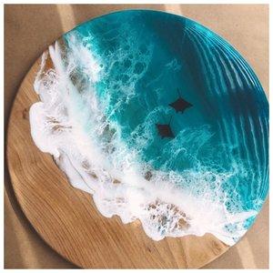 Подносы с изображением моря