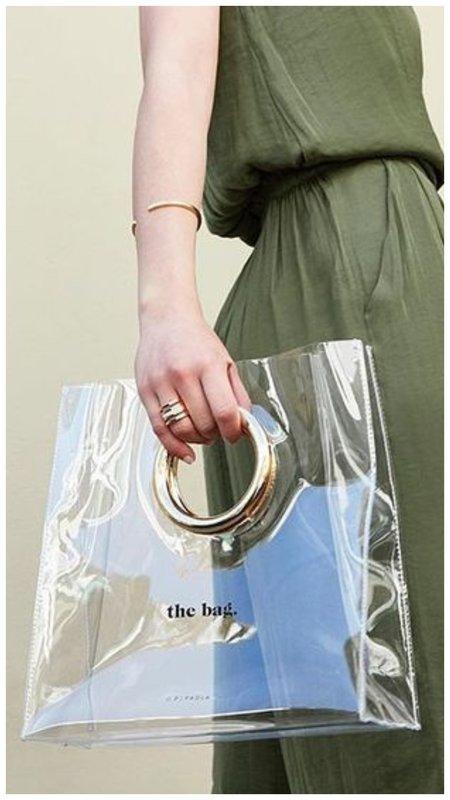 Прозрачная сумка пакет