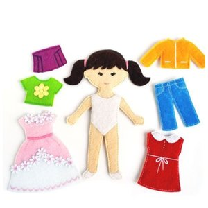 Фетровые куклы фото