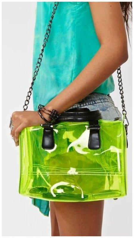 Модная прозрачная сумка