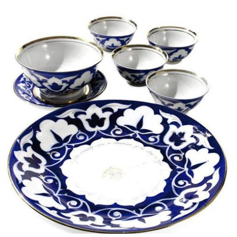 Посуда в национальном стиле