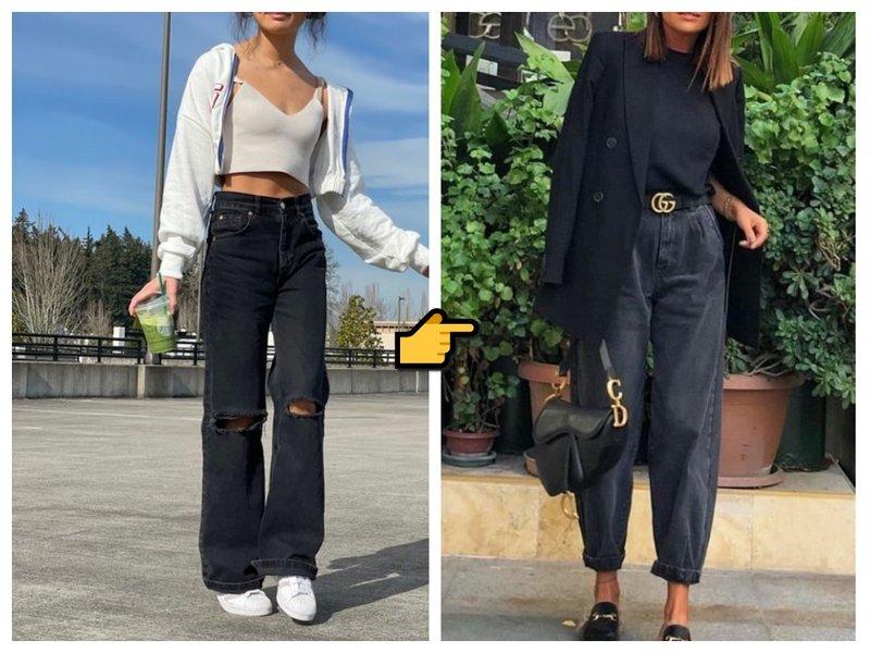 Модные джинсы 2021 лето фото