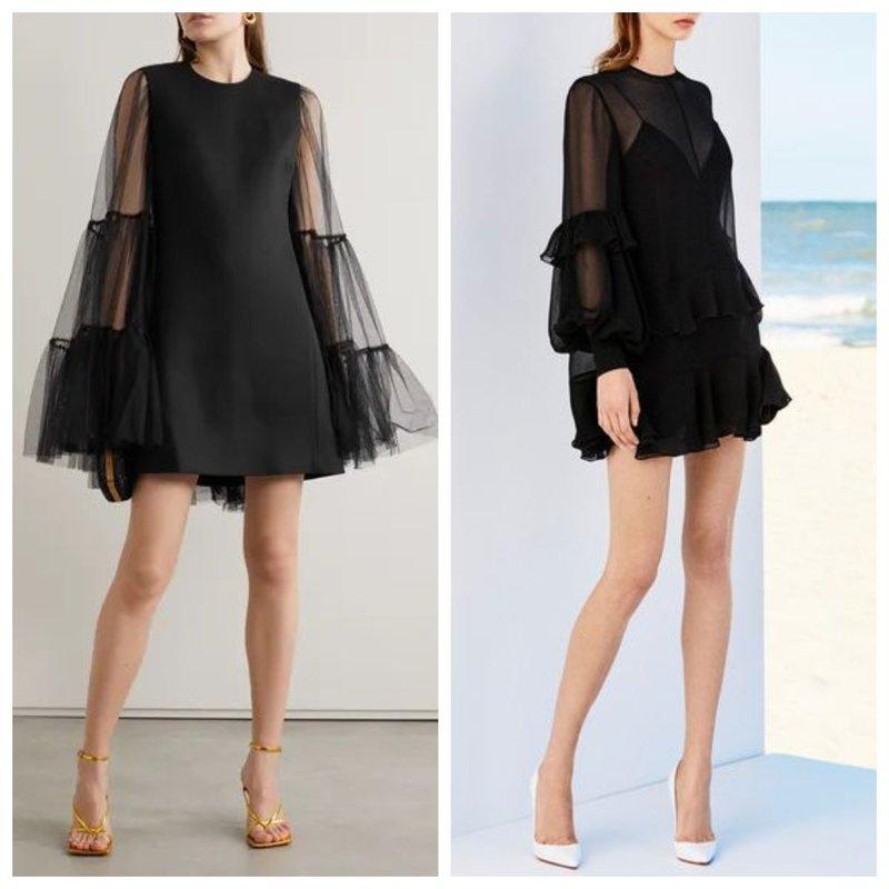 Нарядное мини платье