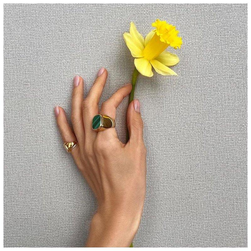 Ногти с цветком