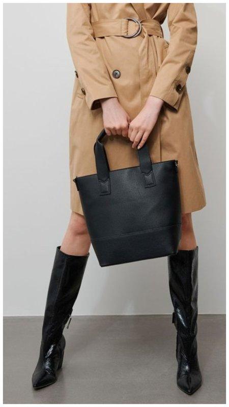 Черная сумка тоут