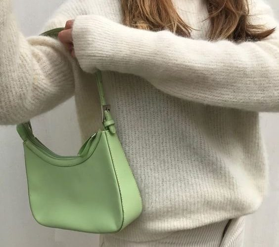 Модная сумка багет