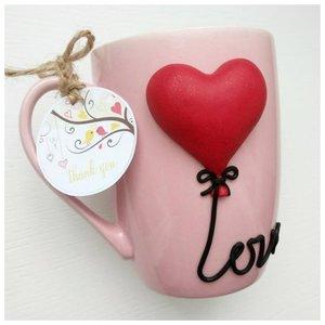 Чашка с сердечком фото