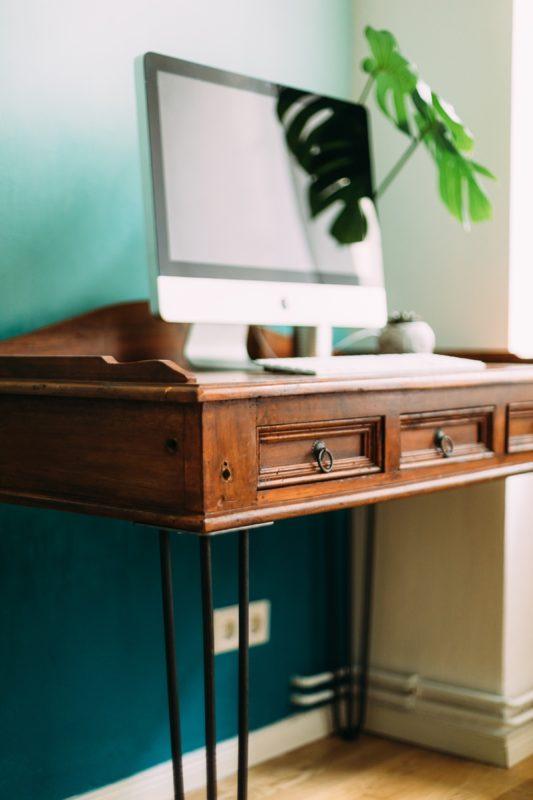 Винтажный рабочий стол