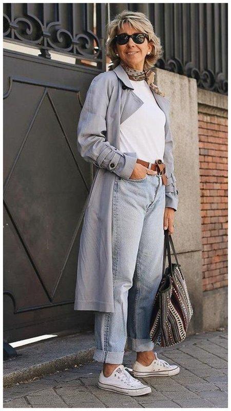Как взрослой женщине носить кеды